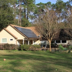 7.5 kW Roof Mounted PV System in Gainesville, FL