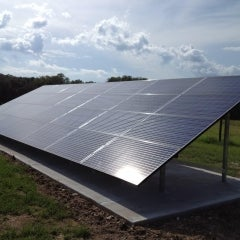 7.5 kW Grount Mounted PV System in Micanopy, FL
