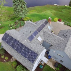 6 kW Solar in Old Lyme CT with LG Electronics SolarEdge by Son Energy Systems