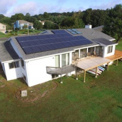 12 kW Solar in Waterford CT with LG Electronics SolarEdge by Son Energy Systems