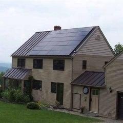 5.04 kW solar PV system in Bristol, VT