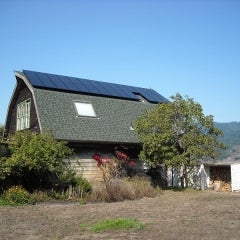 5.3 kW solar PV system in Bolinas, CA