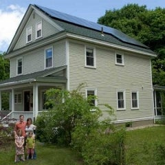 5 kW solar system in Florence, MA