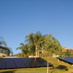 16.5 kW ground-mount solar system in El Cajon, CA