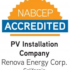 Renova Solar is America's first professionally accredited solar