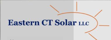 Eastern CT Solar logo