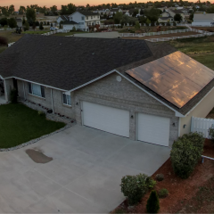 Residential Rooftop Solar Installation