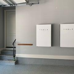 Powerwalls in Garage