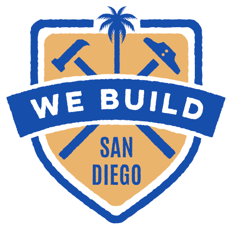 We Build San Diego logo