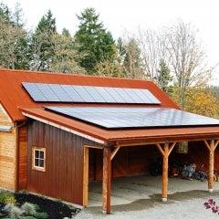 Solar-Powered Barn