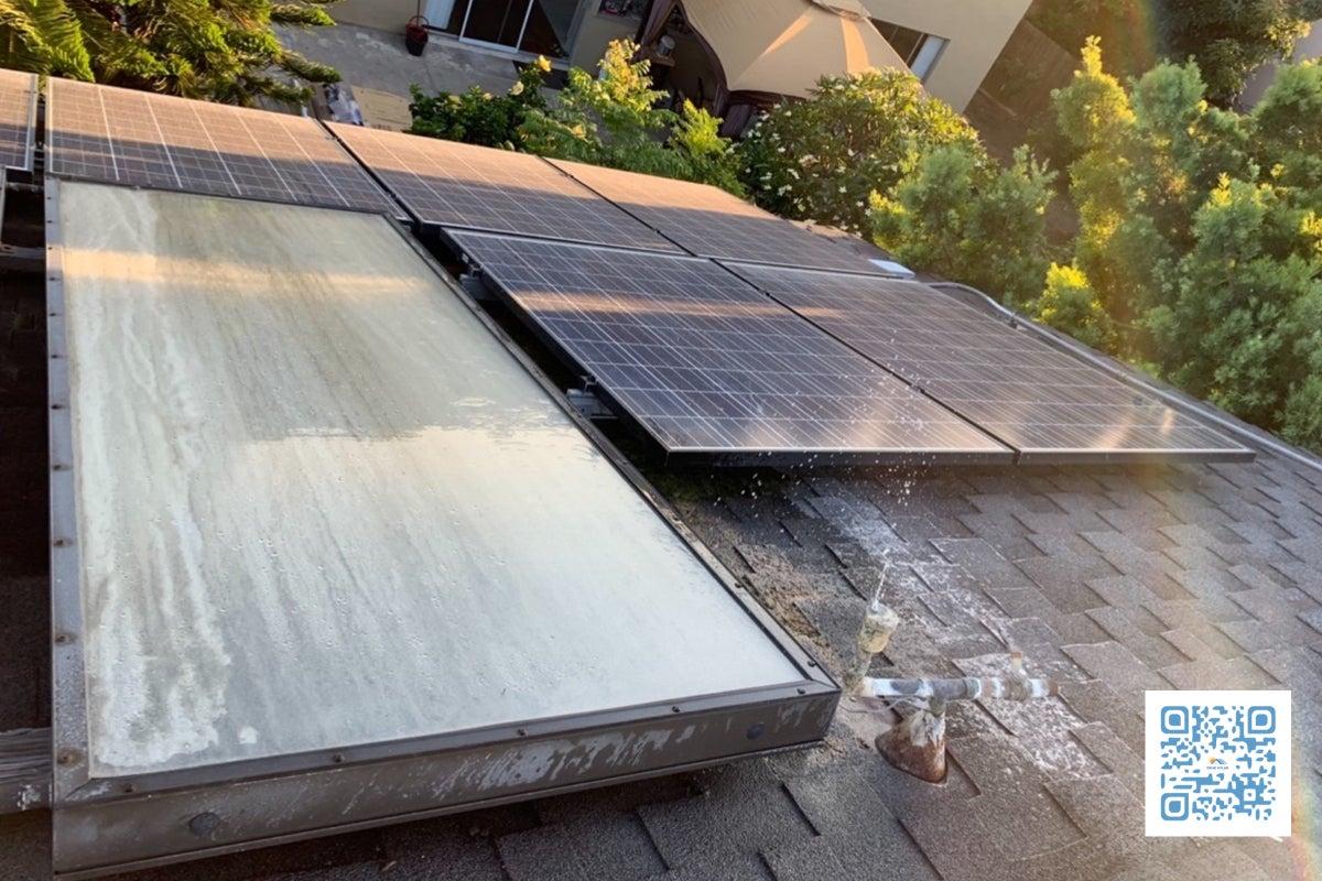solar-repair-leaking-water