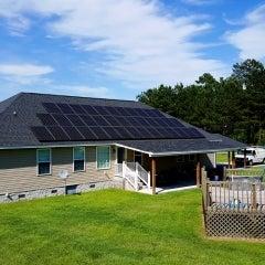 12.8kW SunPower system in Lamar, SC