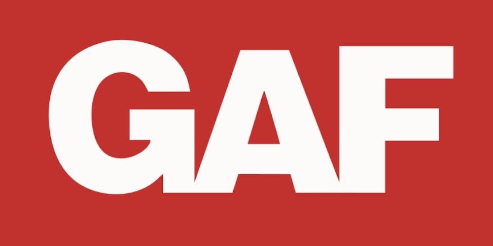 GAF shingles logo