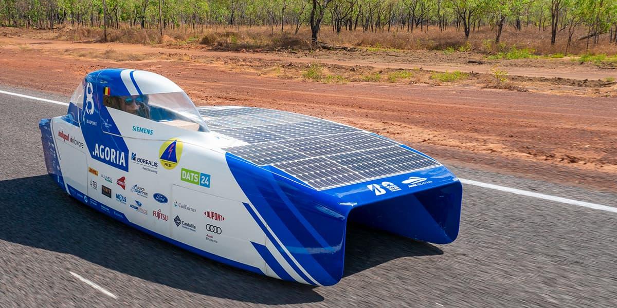 Agoria BluePoint Solar Car