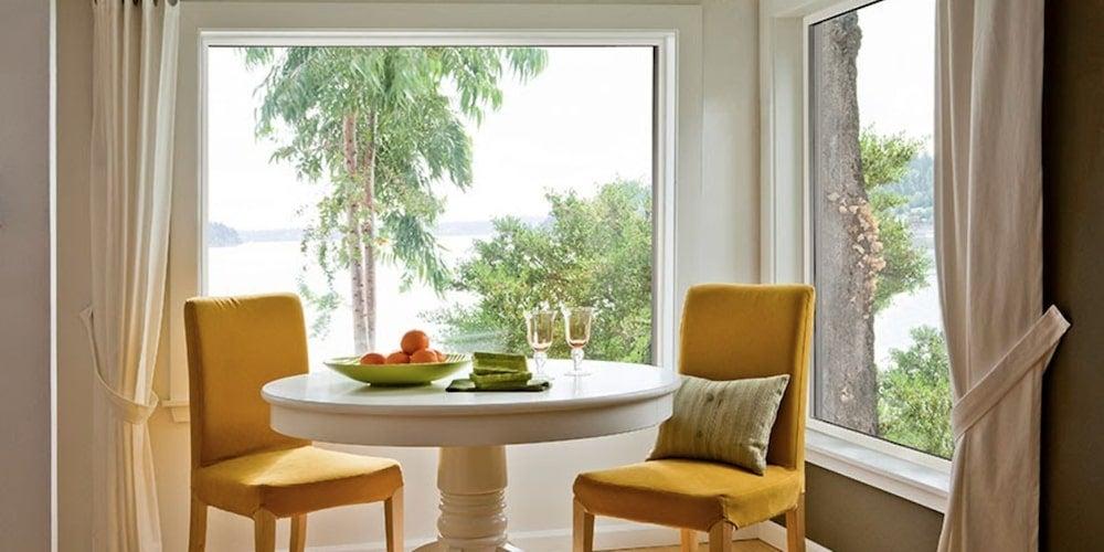 Alside Fairfield 80 Series vinyl windows installed in a dining room