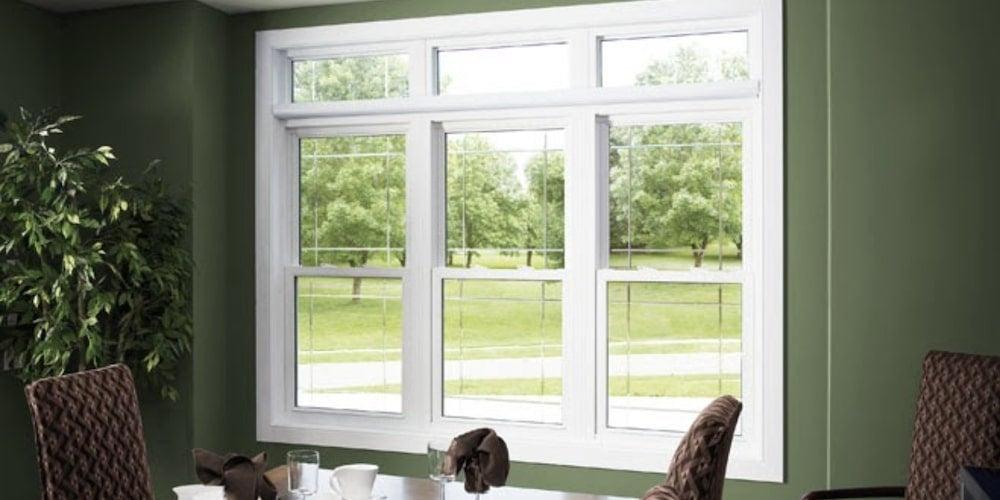 Alside UltraMaxx Fusion-Welded vinyl windows installed in a kitchen