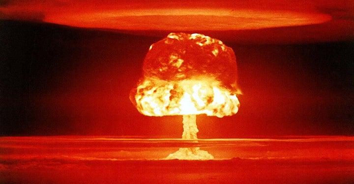 Big atomic explosion