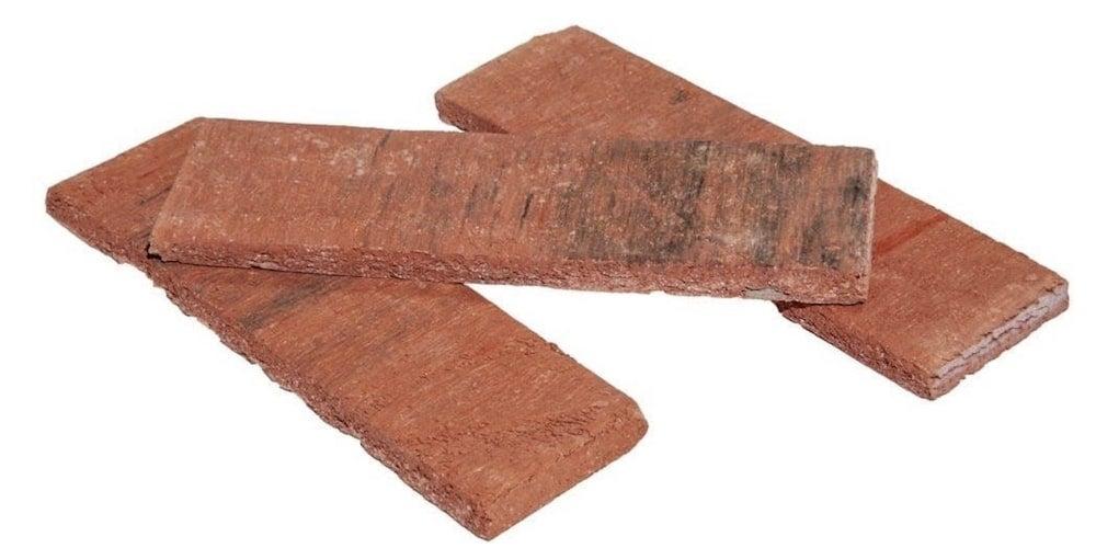 Brick veneer siding