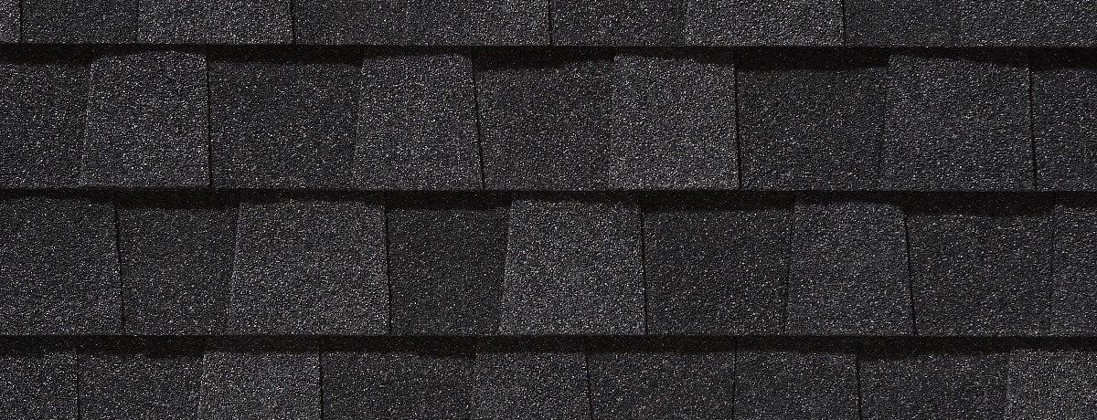 charcoal black siding swatch