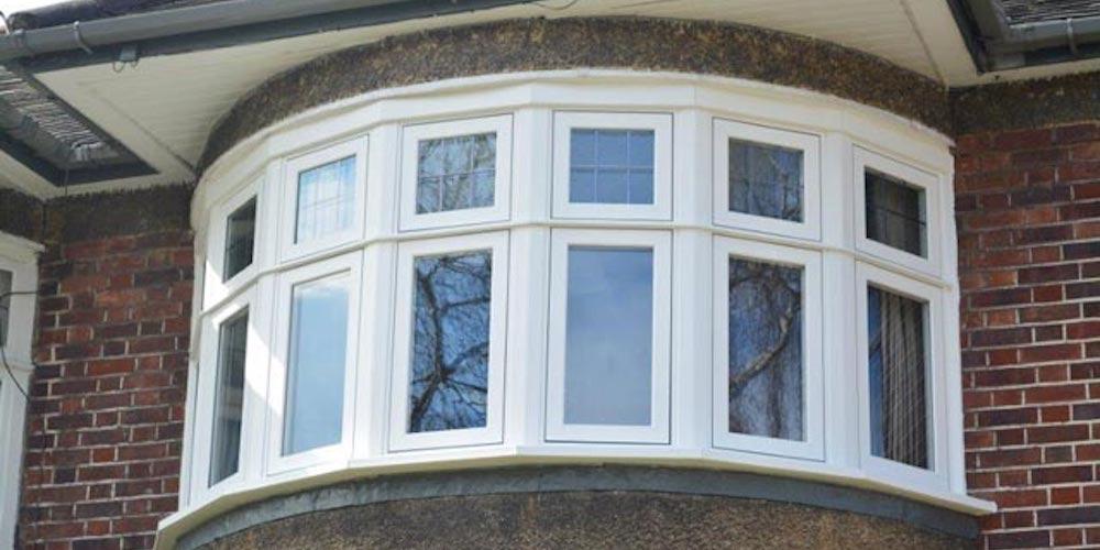 Circle bay window
