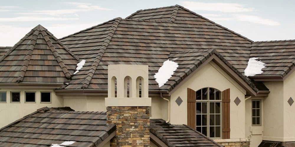 Durable concrete roof tiles