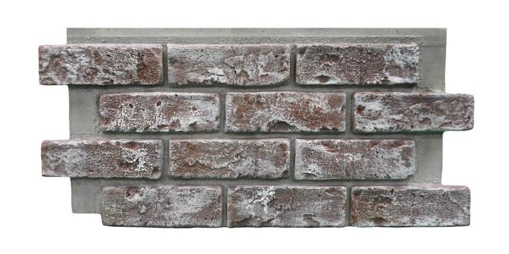 Faux brick siding