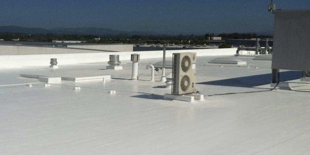 Finished foam roof