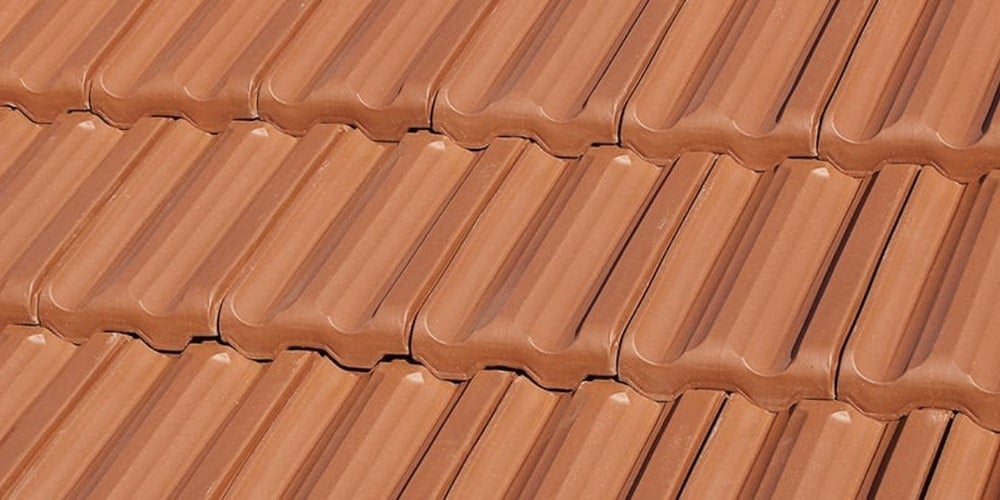 French style clay tiles