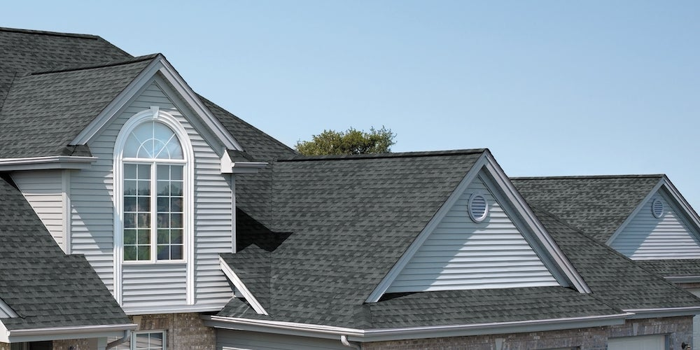 GAF Timberline Natural Shadow shingles on a residential roof
