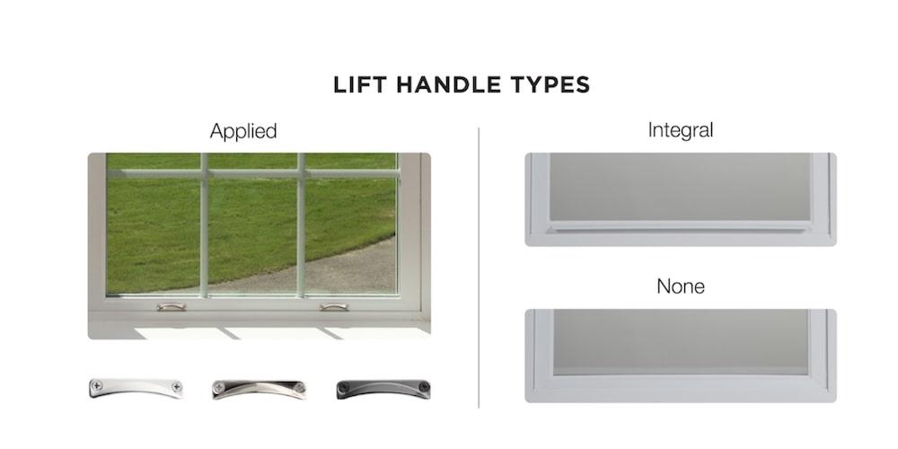 Harvey lift handle types