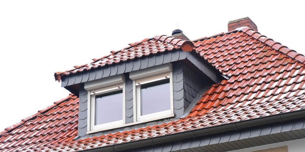 Hipped dormer on a residential home