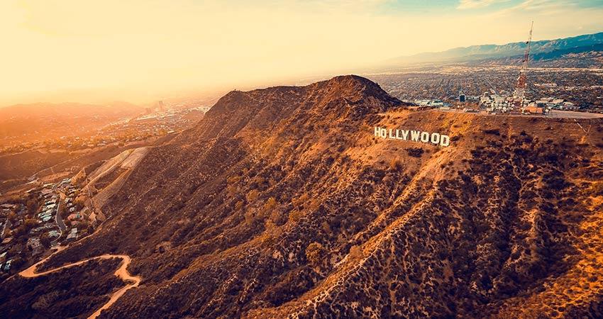 Hollywood at sunset