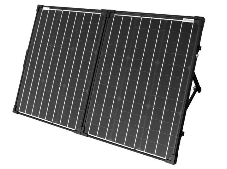 rendu numérique du panneau solaire pliable acopower100 watts