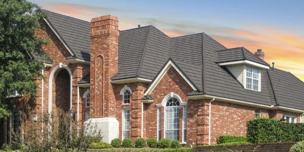 DECRA roofing on a residential home