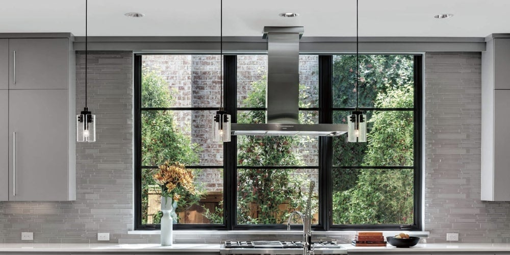 Marvin Ultimate casement push out narrow frame windows
