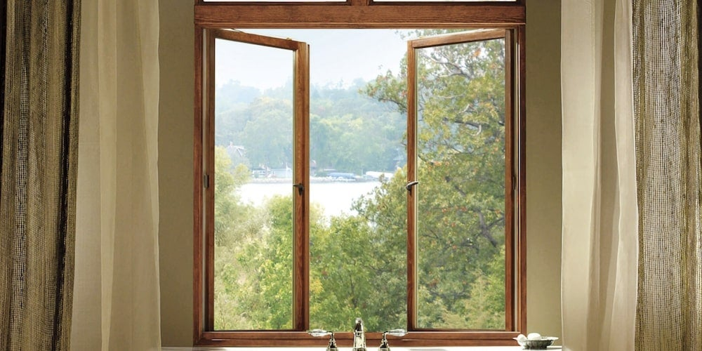 Marvin Ultimate French casement push out windows
