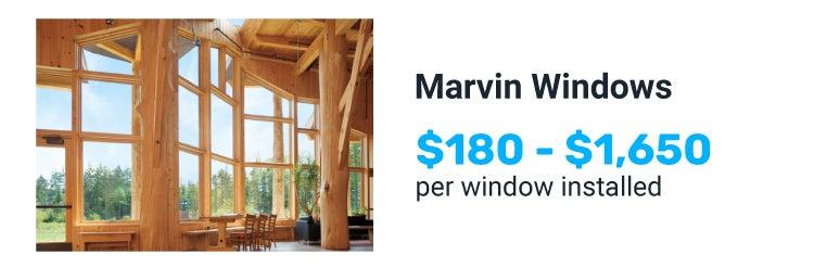 Marvin windows price