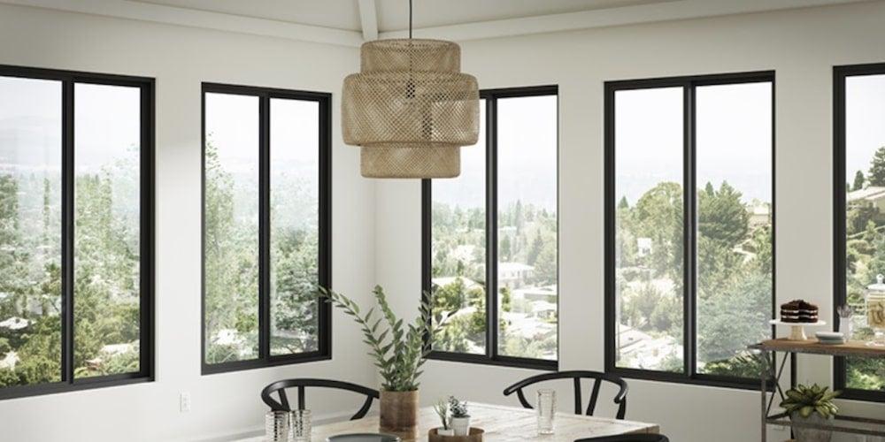 Milgard vinyl window