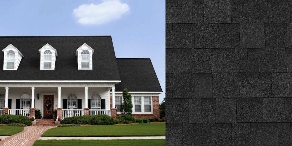 Oakridge shingles on a residential home
