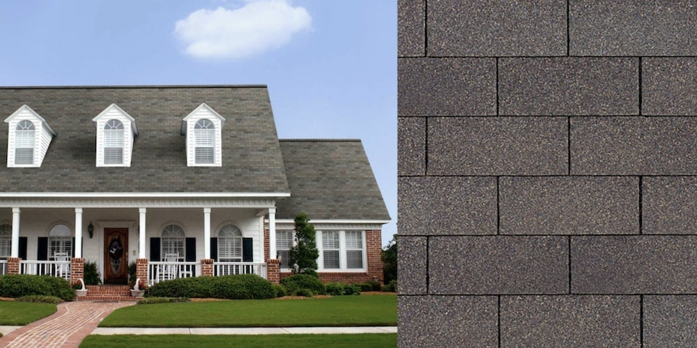 Supreme shingles on a residential home