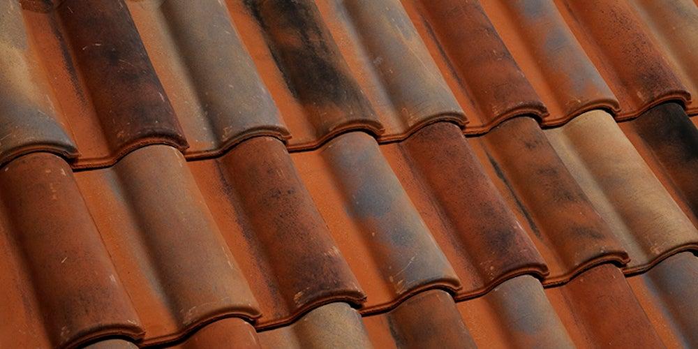 Patterned Spanish tiles