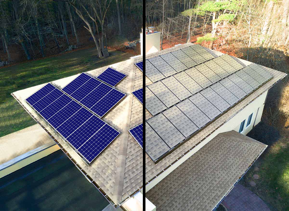 Solar panel skin