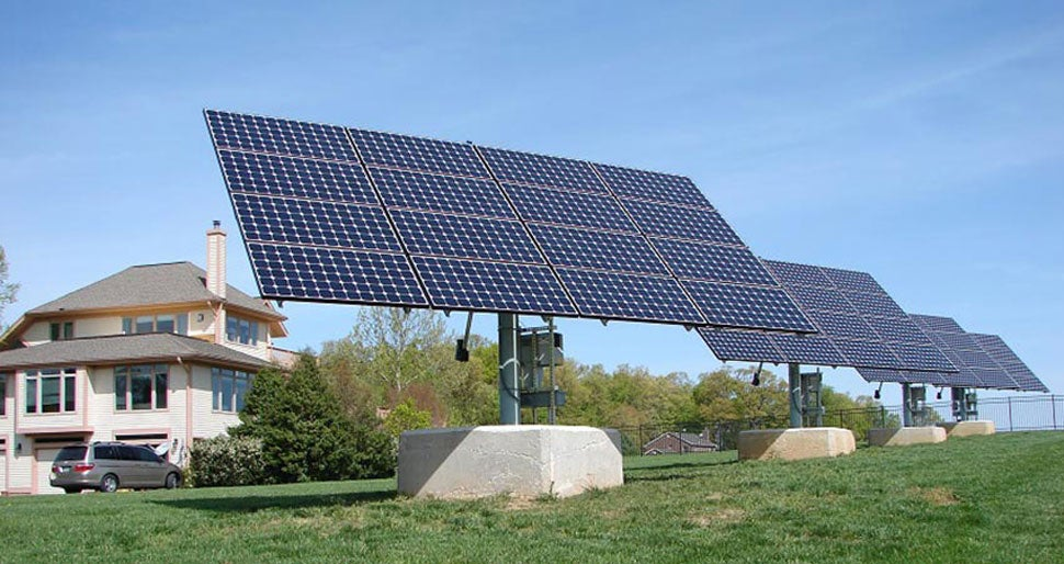 Are solar axis trackers worth the