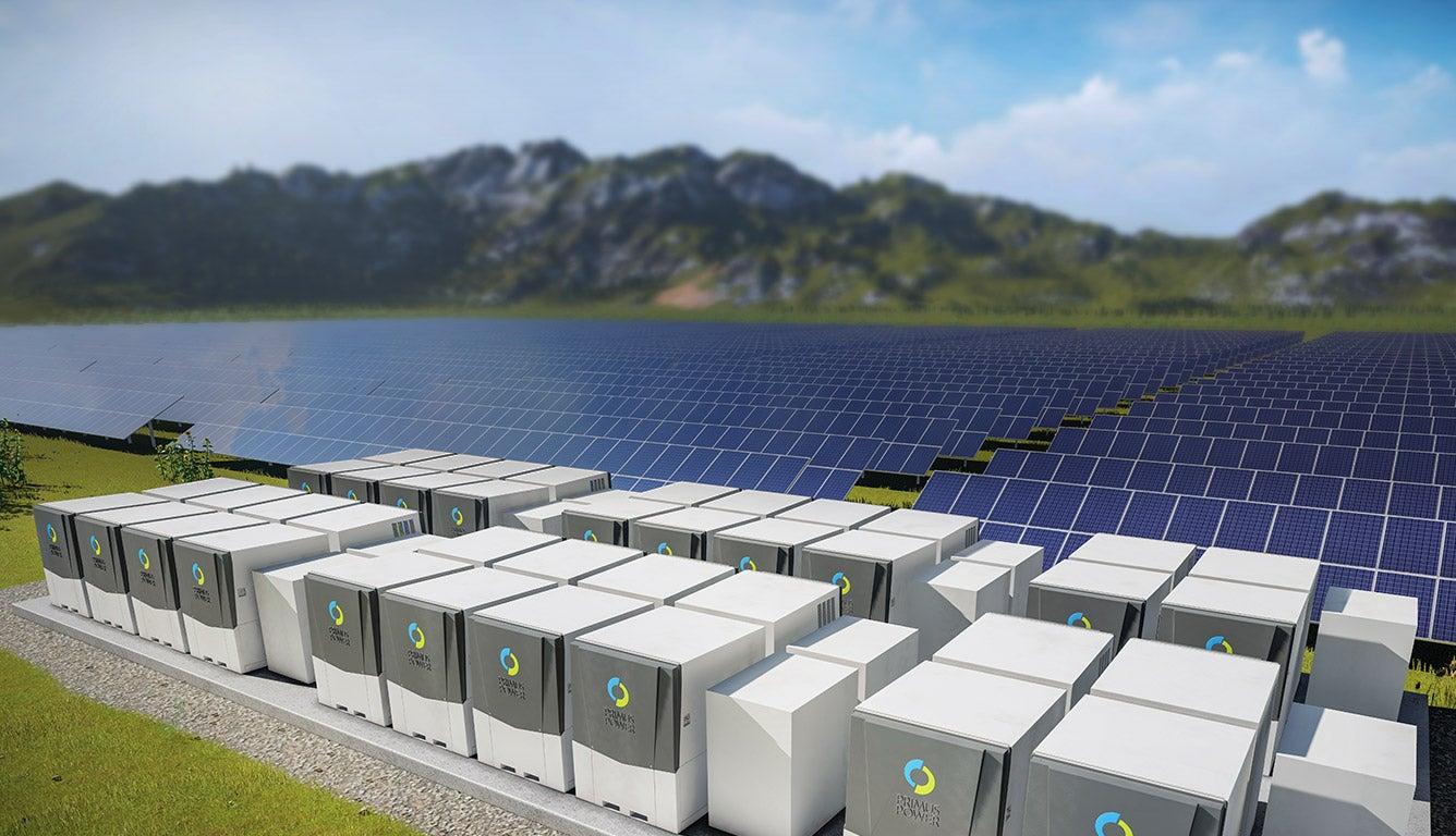 Solar array battery banks