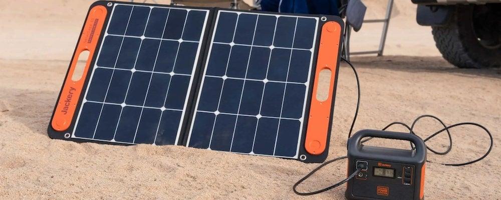 Jackery 60W foldable solar panel