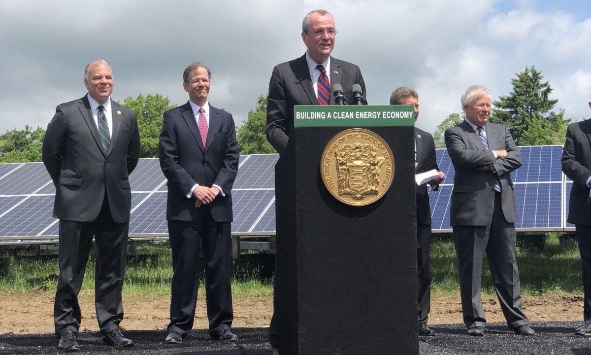 new jersey governor phil murphy signing clean energy act