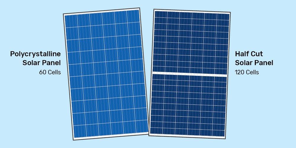 half-cut solar cell technology