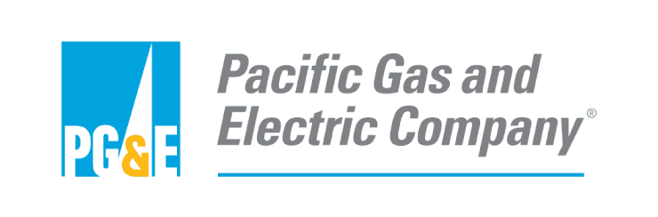 Pacific Gas & Electric, also known as PG&E logo
