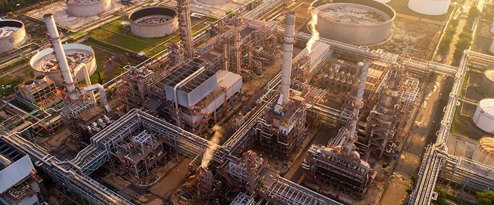 Fossil Fuels - Oil refinery