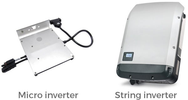 Pros and cons of String Inverters vs. Micro Inverters